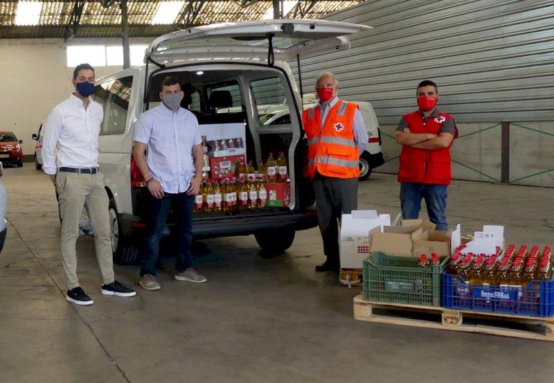 Trivio y Talleres Manchegos donan a Cruz Roja 900 euros en alimentos