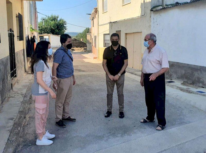 Recepcionadas las obras del POS en Mohorte y Villanueva de los Escuderos