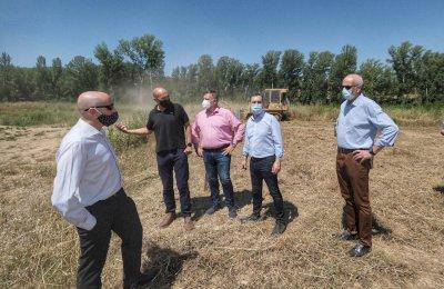 Finalizada la obra para evitar inundaciones en la confluencia de los ríos Júcar y Moscas