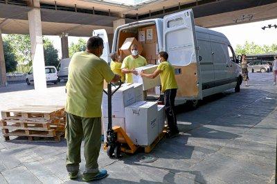 Ya son casi 50,3 millones de artículos protección distribuidos a los centros sanitarios