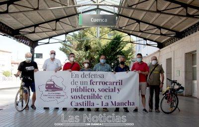 """Movilizaciones en octubre en defensa de un tren """"que vertebre el territorio"""""""