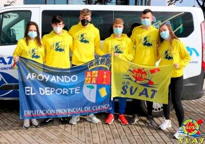 Diputación reparte 35.000 euros entre deportistas destacados de la provincia