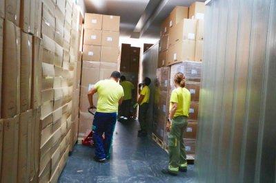 Nueva remesa  a centros sanitarios con más de 225.000 artículos de protección