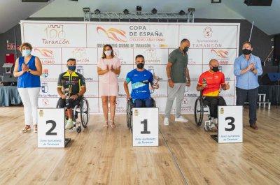 García-Marquina se lució en casa: el handbiker se impuso en la tercera cita de la Copa de España