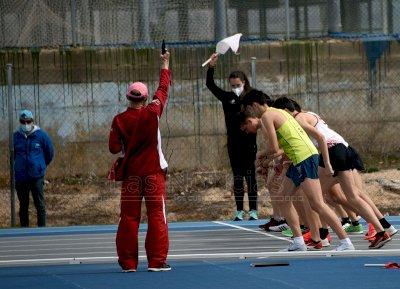 Punto de partida para el nacional sub16 de atletismo