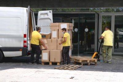 Nuevo envío a los centros sanitarios de más de 224.000 artículos de protección frente a la Covid