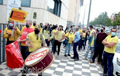 CCOO insta a Escudero a negociar con el comité de huelga de Geacam