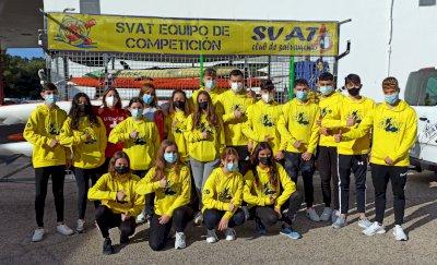 El SVAT no falla en su cita con las medallas en el nacional juvenil-junior de verano