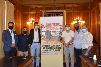 Seis miuras en la corrida de toros de agosto en San Lorenzo de la Parrilla