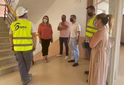 Obras de mejora de eficiencia energética en el IES de Motilla del Palancar