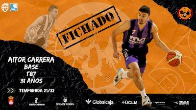 Aitor Carrera, segundo fichaje del Basket Globalcaja Quintanar