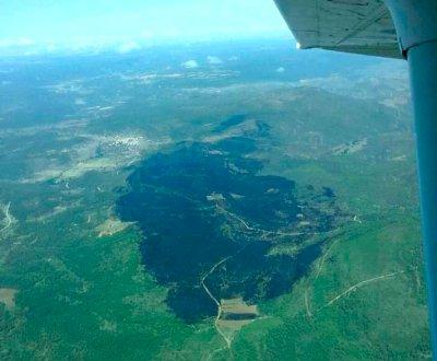 Controlado el incendio forestal de Víllora después de más de un día de trabajos