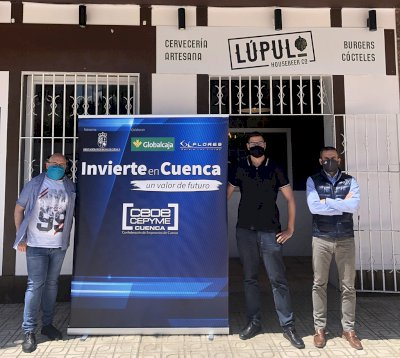 'Invierte en Cuenca' apoya la apertura de la Cervecería Lúpulo en Cuenca