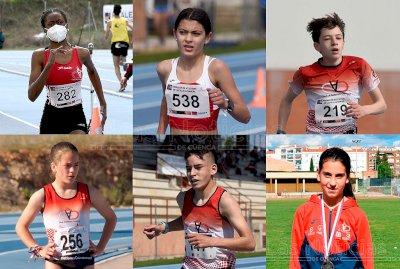 """Seis atletas competirán """"en casa"""" en el futuro Campeonato de España Sub16"""
