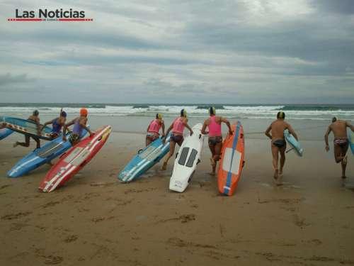El Salvamento Acuático sigue dando alegrías al deporte de la provincia