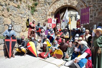 La Alvarada sumerge a Cañete en plena Edad Media