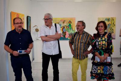 Jesús Ocaña y Miguel B. Ortega unen su arte en la sala Iberia