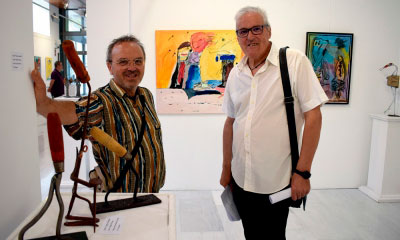 Miguel B. Ortega y Jesús Ocaña: unidos por el color y la humildad