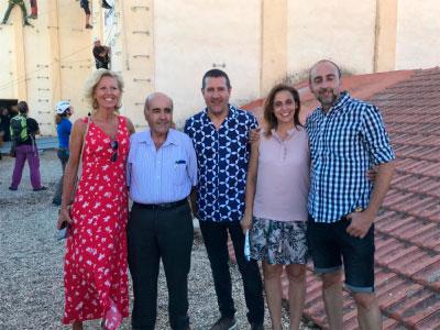 La Junta destaca el potencial turístico del circuito-ferrata urbano de Chillarón