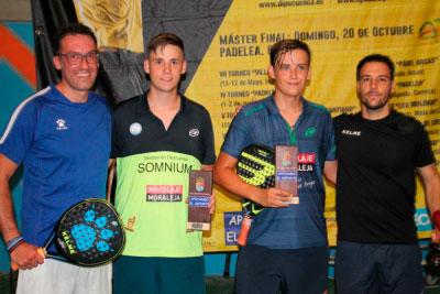 El Club Padelea acogió la 8ª prueba del VII Circuito de pádel Diputación de Cuenca