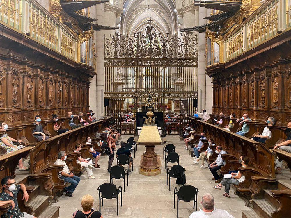 Música frente al espejo en la Catedral