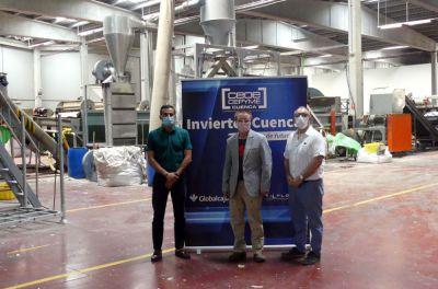 Una empresa asiática de reciclaje se instala en Montalbo