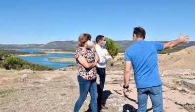 Diputación colabora por primera vez con los ribereños en la defensa de su derecho al agua