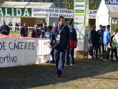 El conquense Esteban Mena, en la Copa de España de clubes de Atletismo