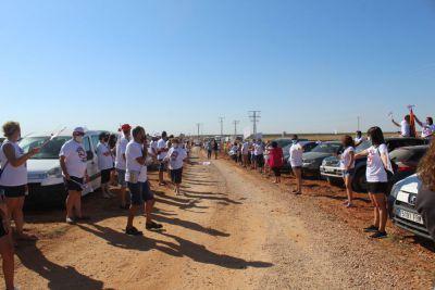Manifestación en Quintanar del Rey contra la macrogranja de la Jara