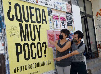 La pandemia deja sin sede al colectivo artístico Lamosa