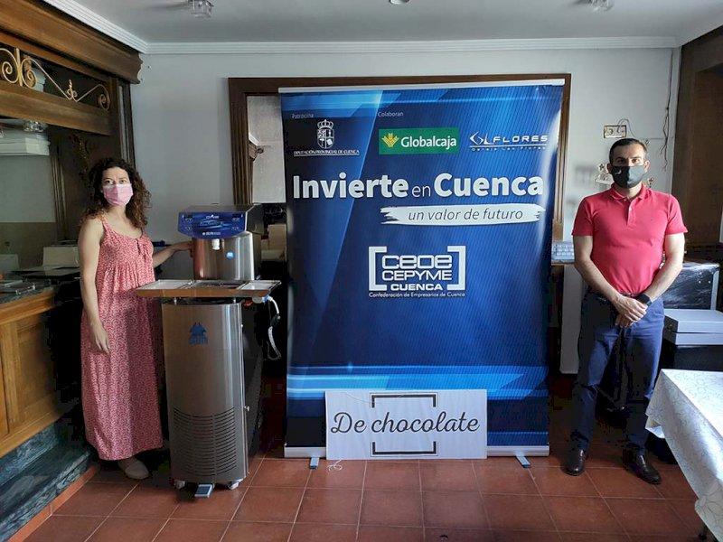Visita de Invierte en Cuenca. Foto: CEOE CEPYME Cuenca