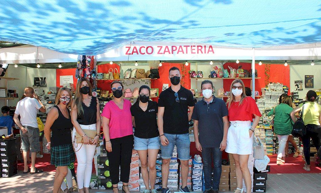 Inaugurada la II Feria del Comercio Villa de Iniesta