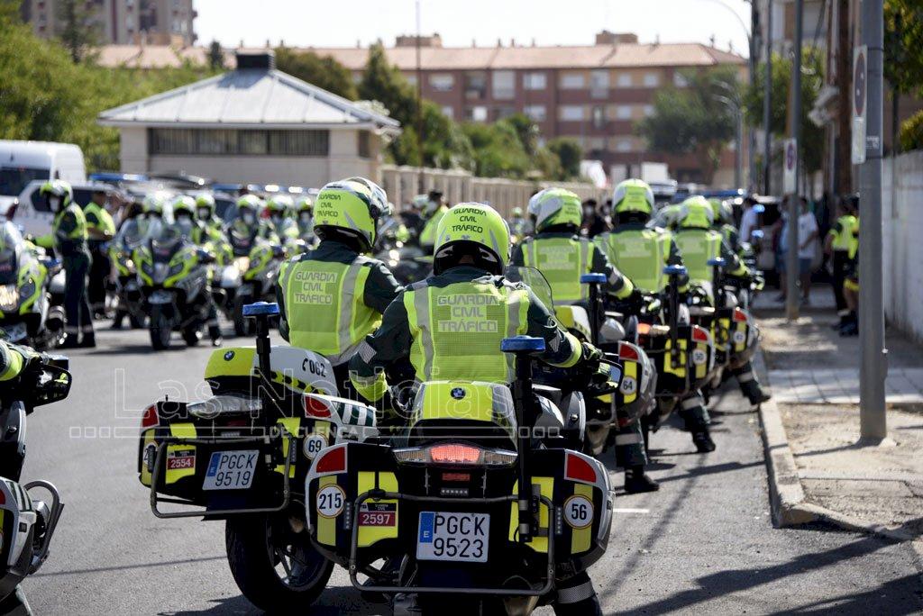 130 efectivos de la Guardia Civil, en el dispositivo de la Vuelta a su paso por Cuenca