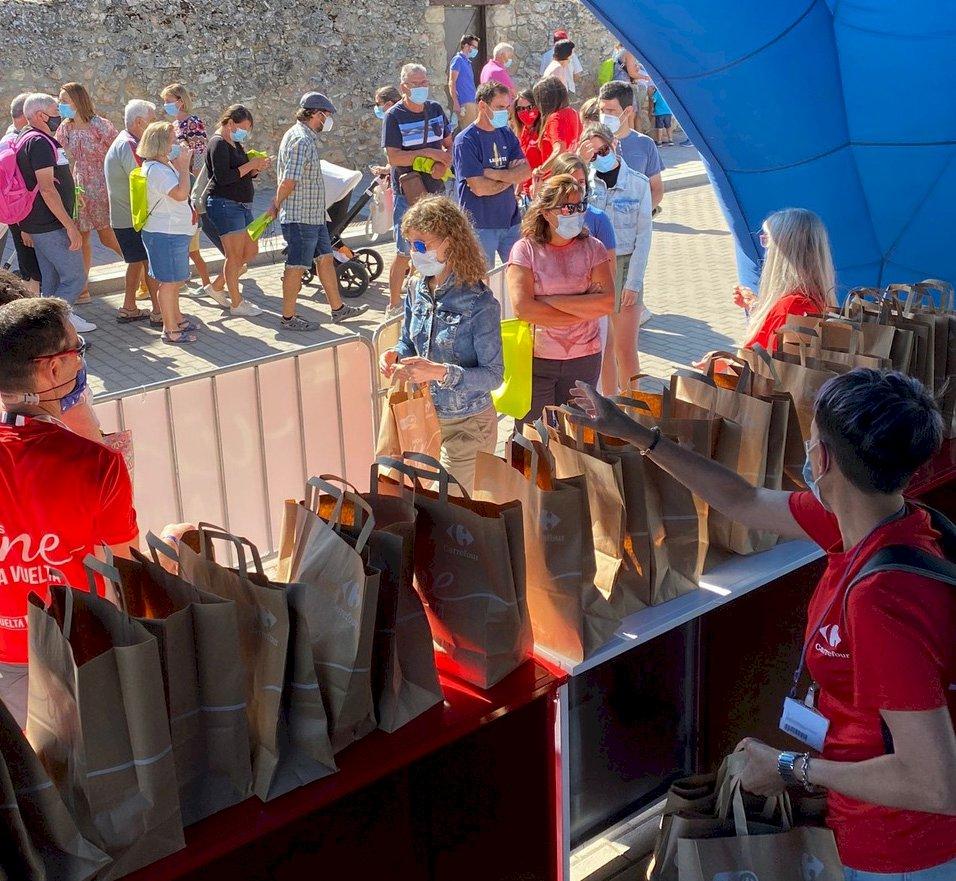 Carrefour tiene abierta votación para que el queso de Villamayor sea el mejor producto de La Vuelta