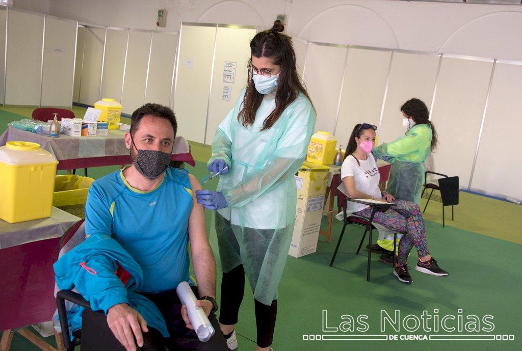 Castilla-La Mancha alcanza hoy 1,4 millones de personas con vacuna completa