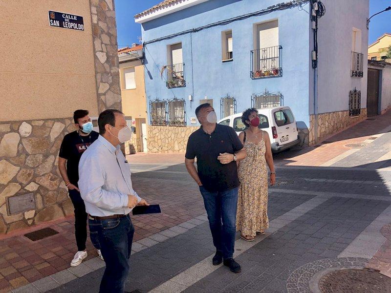 Completado el despliegue de la fibra óptica en el barrio de Buenavista