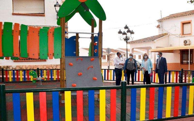 Junta y Diputación invierten 180.000 euros en Casas de Haro