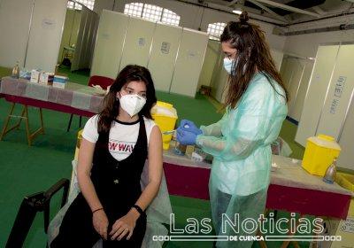 Castilla-La Mancha llegará esta semana al 65% de la población diana vacunada con doble pauta