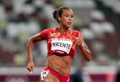 María Vicente concluye su primer día de heptatlón en la 12ª posición