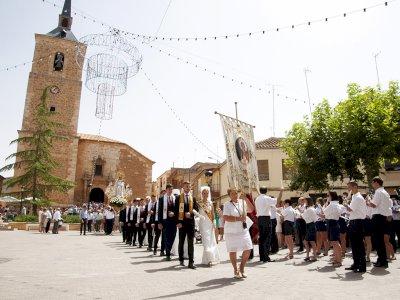 Quintanar del Rey celebra unas fiestas atípicas y moderadas