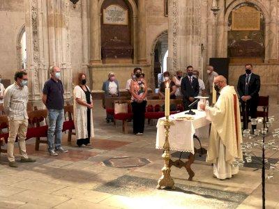 La catedral acoge la celebración de la misa en honor a San Julián