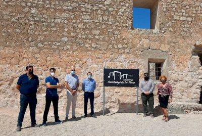 Finaliza la primera fase de rehabilitación del castillo de Santiago de la Torre