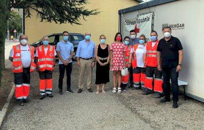 Cruz Roja ha realizado más de 60 intervenciones en el Recinto Ferial
