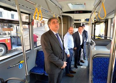 """El bus lanzadera del centro al Casco, en marcha de forma """"inminente"""""""