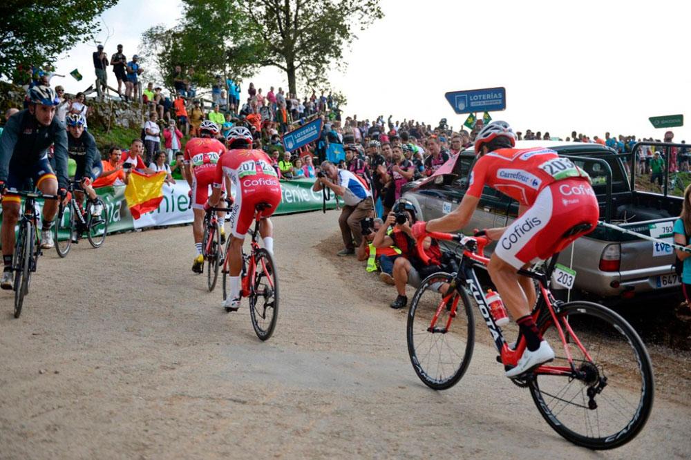 Día de reseteo mental para los hermanos Herrada en la etapa reina de La Vuelta