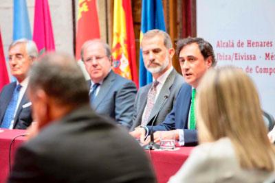 Mariscal destaca ante el Rey Felipe VI la defensa y promoción del patrimonio del Grupo
