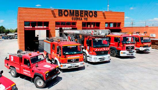 Diputación avanza en la creación de dos nuevos parques de bomberos
