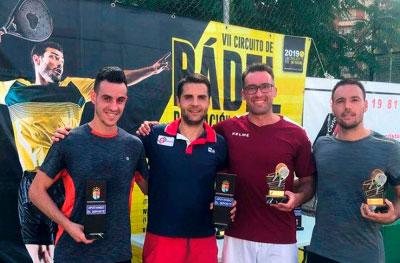El Club Nuevo Tenis celebró la VII edición del Torneo 'Ciudad de Cuenca' de pádel