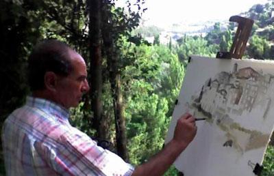 Los paisajes de Cuenca llegan a la Sala Iberia de la mano de Damián de Dios