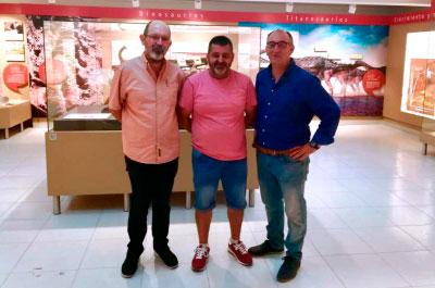 Diputación reabre el centro de interpretación del yacimiento de Lo Hueco en Fuentes